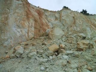 Szakmai kirándulás Tarcalon a riolit-tufa bányában (9. kép)