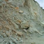 Szakmai kirándulás Tarcalon a riolit-tufa bányában
