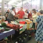 Jakab-napi vásár a békési piacon