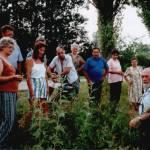 Gyógynövény túrán Dr. Szalai Lászlóval Békés-Dánfokon