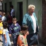 Iskolások látogatása Major Pál csorvási kertjében (29. kép)