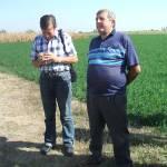 Látogatás egy csépai gazdaságban, Romániában (6. kép)