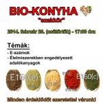 Bio-konyha Szakkör - 2014. február