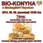 Biokonyha szakkör - Kenyérsütés, édes és sós sütemények különböző gabonákból