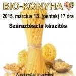 Biokonyha: Csicsókás ételek