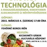 OROWET TECHNOLÓGIA a biogazdálkodásban, kiskertekben alkalmazható új növényvédőszerek