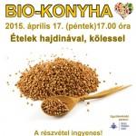 Biokonyha: Ételek hajdinával, kölessel