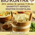 Bio-konyha meghívó