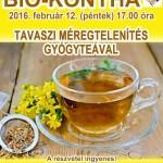 Bio-konyha 16-02 Tavaszi méregtelenítés gyógyteával